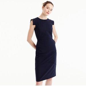 J.Crew Resume Dress (Navy)